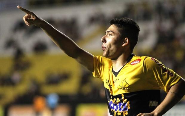Bruno Lopes Criciúma x Botafogo (Foto: Fernando Ribeiro/Criciúma EC)