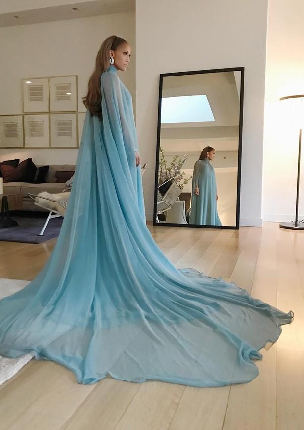Jennifer Lopez Look  Met Gala 2017 (Foto: reprodução instagram)