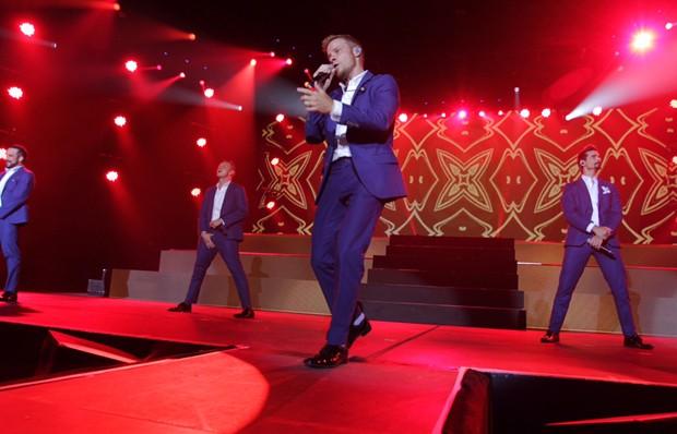 Backstreet Boys (Foto: Marcello Sá Barretto/AgNews)