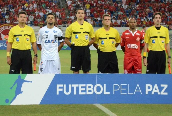 ABC América-RN Arena das Dunas árbitro Ricardo Marques Ribeiro (Foto: Frankie Marcone/ABC FC/Divulgação)
