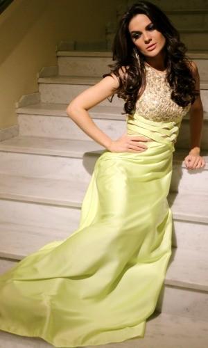 Miss Brasil Melissa Porto Alegre (Foto: Paula Menezes/G1)