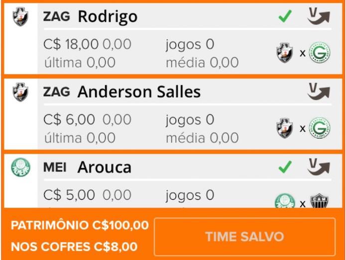 Cartola FC: gerencie a equipe pelo aplicativo celular (Foto: Divulgação)