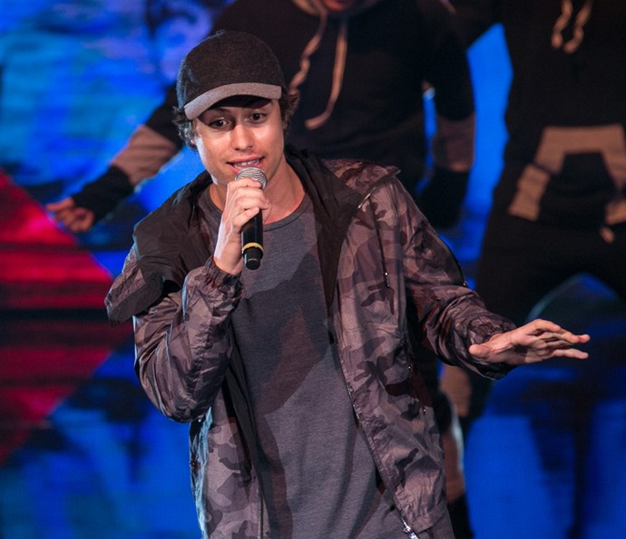 Francisco Vitti abusa do estilo na sua versão rapper (Foto: Isabella Pinheiro / Gshow)