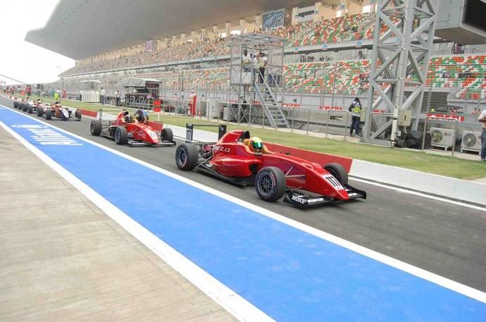 Este será o segundo ano do MRF, campeonato indiano de Fórmula 2000 (Foto: Divulgação/MRF)
