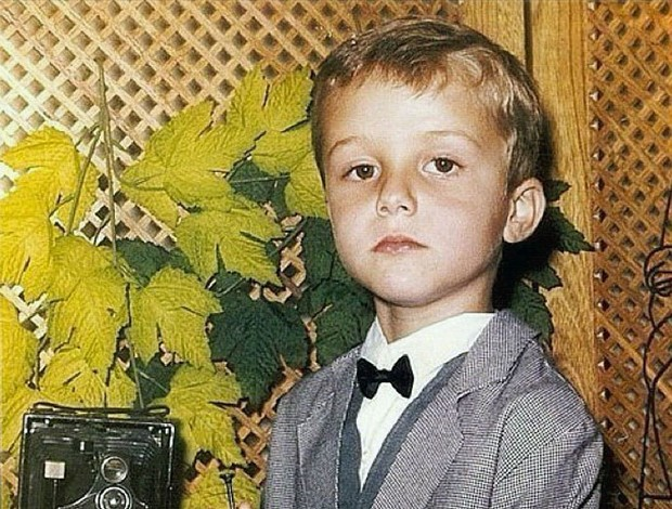 David Luiz criança