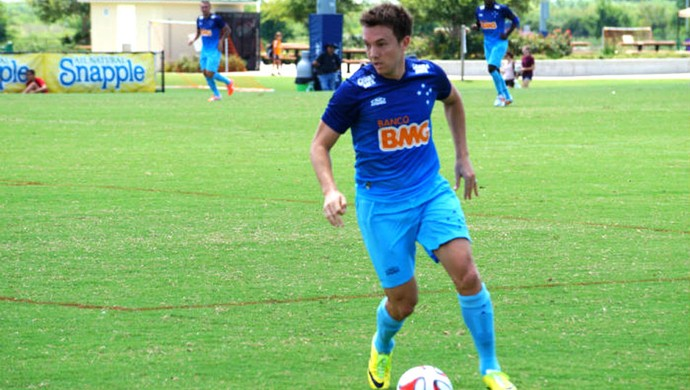 Dagoberto Cruzeiro e Houston Dinamo estados unidos (Foto: Divulgação / Cruzeiro)