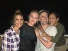 Paulo Gustavo janta com Ivete Sangalo e Fiorella Mattheis: 'Divas'