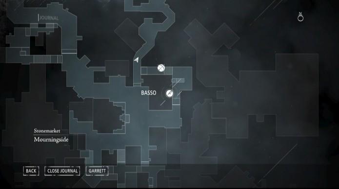 Esconderijo de Basso no mapa (Foto: Reprodução/Paulo Vasconcellos)