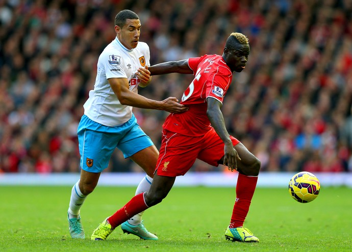 Liverpool x Hull City - Balotelli (Foto: Getty Images)