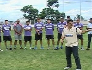 Araxá Esporte Apresentação (Foto: Reprodução/TV Integração)