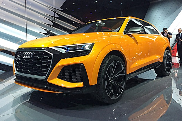 Audi revela jipão esportivo Q8 Sport no Salão de Genebra