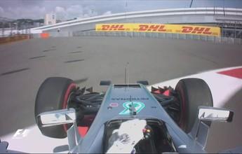 Hamilton roda, dá a volta por cima e lidera 2º treino livre para GP da Rússia