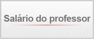 Selo Agenda Salário do Professor (Foto: Editoria de Arte/G1)