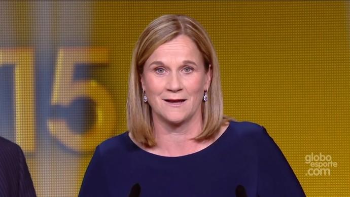 Jill Ellis, técnica dos Estados Unidos (Foto: Reprodução)