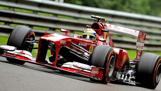 Felipe Massa fechou o dia em quarto, três posições à frente de Alonso (Foto: EFE)