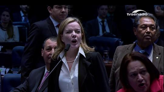 Ana Amélia vai ao Conselho de Ética contra fala de Gleisi sobre 'moral'