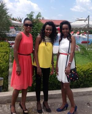 As irmãs Dibaba: atletismo em família (Foto: Reprodução / Facebook)