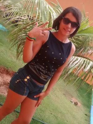 Garota foi vista pela última vez no colégio onde estuda na zona Norte de Natal (Foto: Mônica Santos/Arquivo pessoal)