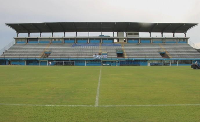 Estádio do Vale, em Novo Hamburgo, a casa do Anilado (Foto: André Roca / GloboEsporte.com)