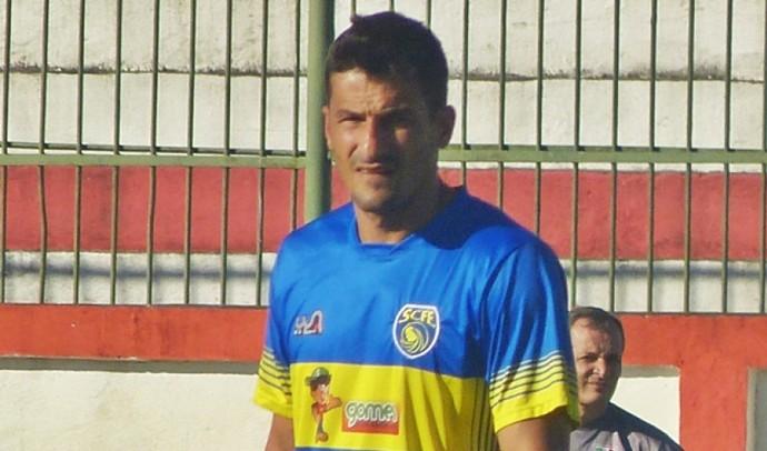 Romulo Gomes, atacante do Sampaio Corrêa (Foto: Gabriel Andrezo / Futrio.net)