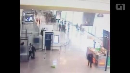 Imagens mostram tentativa de ataque no aeroporto de Orly, na França