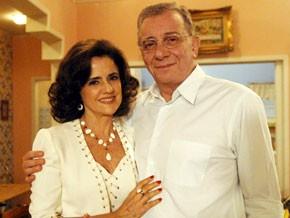 Lineu e Nenê (Foto: A Grande Família/TV Globo)