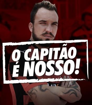 willian farias; willian farias vitória (Foto: EC Vitória / Divulgação)