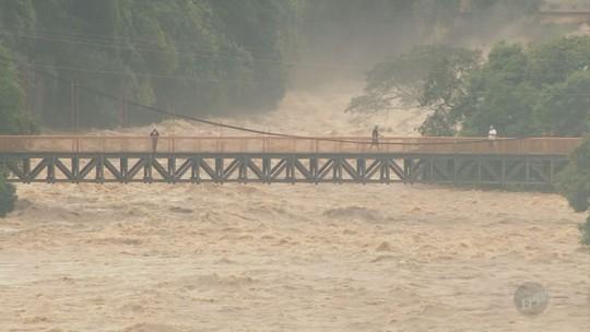 Em uma semana, chove metade do previsto para janeiro em Piracicaba