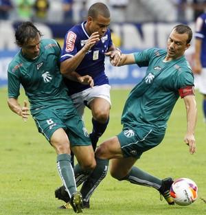 Mayke; Cruzeiro; Caldense (Foto: Washington Alves/Light Press)