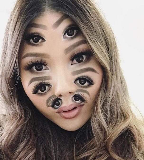 Maquiagens 3-D (Foto: Reprodução)