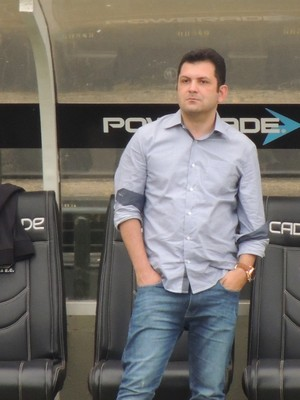 Claudio Gomes Criciúma diretor de futebol (Foto: João Lucas Cardoso)