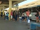Após greve, PMs começam a atuar nos terminais de ônibus do ES