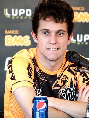 Bernard coletiva Atlético-MG (Foto: Bruno Cantini / Site Oficial do Atlético-MG)
