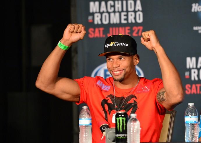 UFC Hollywood Thiago Marreta coletiva (Foto: Jason Silva)