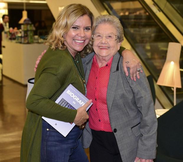 Astrid Fontenelle e Palmirinha (Foto: Leo Franco/AgNews)