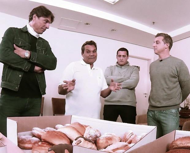 Seu Simei participa do Mandando Bem e tem negócio transformado (Foto: Caldeirão do Huck/ TV Globo)