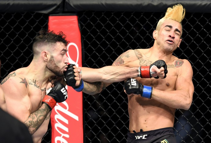 Shane Burgos x Godofredo Pepey UFC Long Island (Foto: Getty Images)