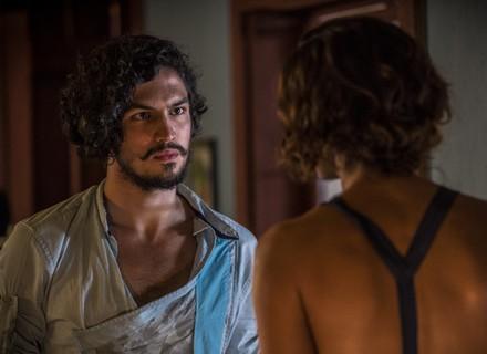 Miguel e Tereza têm primeiro encontro após revelação