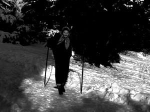 Escritora Zélia Gattai (Foto: Zélia Gattai/ Acervo Fundação Casa de Jorge Amado)