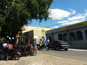 Banco do Brasil de Amarante (Foto: Denison Duarte/SomosNoticia.com)