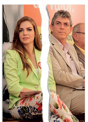 Pâmela Bório e Ricardo Coutinho (Foto: Getty Images/Istockphoto Francisco França)