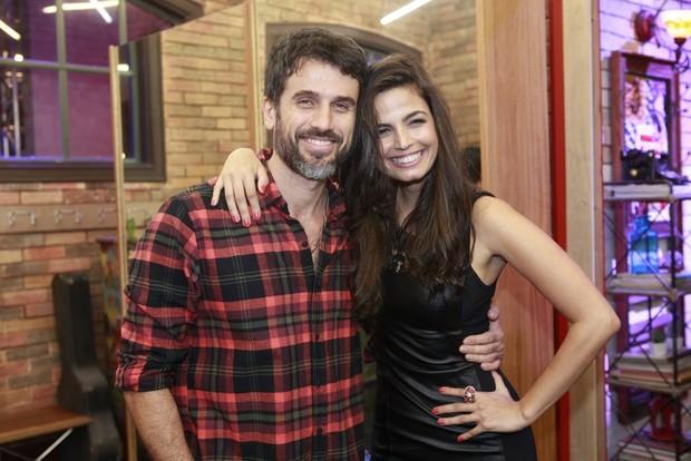Eriberto Leão e Emanuelle Araújo  (Foto: Isac Luz / Ego)