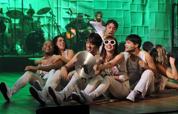O espetáculo é estrelado pela atriz Mel Lisboa e grande elenco (Foto: Divulgação)