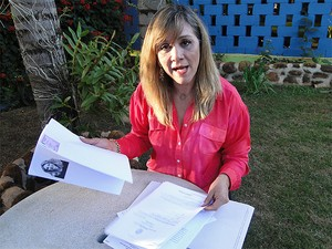 Denise Abreu diz que tinha condições de ser a candidato do partido à presidência (Foto: Michel Montefeltro/ G1)