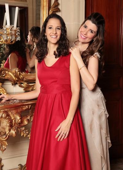 Marina Cyrino e Nádia Figueiredo: clássicos da música francesa em solo carioca (Foto: Andrea Rocha)