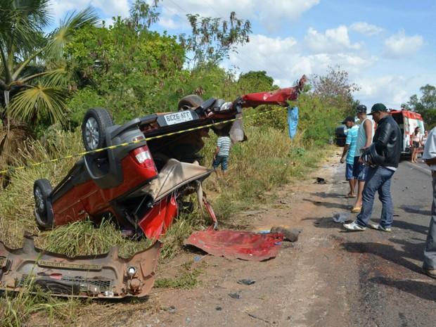 Acidente ocorreu em Luís Eduardo Magalhães, na Bahia (Foto: Weslei Santos/Blog do Sigi Vilares)