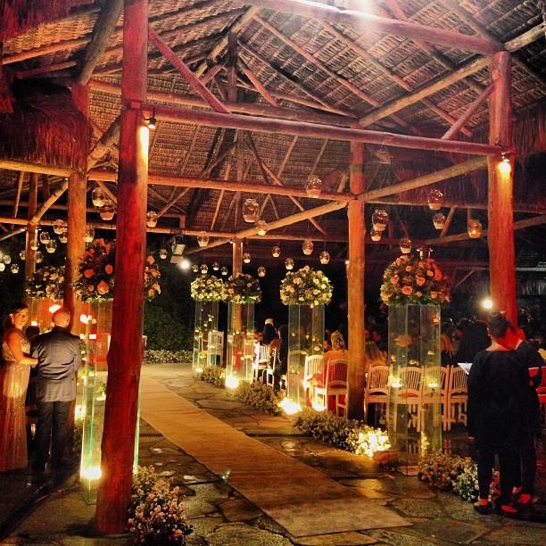 Decoração do casamento de Naldo (Foto: Reprodução/Instagram)