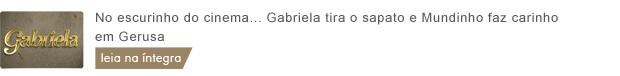 gabriela_1707_tarde (Foto: Gabriela/TV Globo)