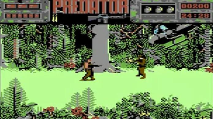 O game Predator do Commodore 64 era mais fiel ao filme em relação ao NES (Foto: Reprodução/Wikiwand)