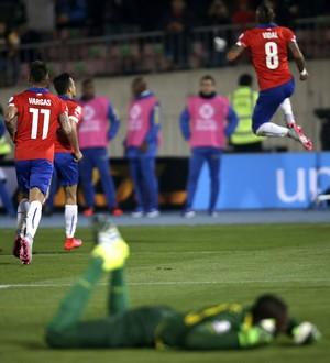 Vidal Chile Equador (Foto: EFE)